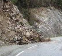 Éboulement de falaise à Duclair : la D 982 coupée et déviée dans les deux sens