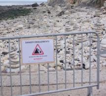 Nouveaux risques d'éboulement : l'accès à la falaise entre Le Havre et Sainte-Adresse interdit