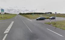 Entre Goderville et Fécamp, trois voitures impliquées dans un accident ce matin : quatre blessés
