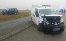 Deux véhicules se percutent au carrefour à Mesnil-Verclives, près d'Écouis : un blessé