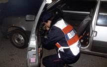 Eure : les douaniers découvrent 2 kg d'herbe de cannabis dans la voiture de deux Rouennais