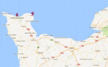 Deux plaisanciers échoués au large du Cotentin nécessitent l'intervention des secours