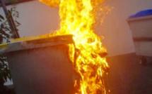 Rouen : pour se venger de ses voisins, il brûle une poubelle. L'incendiaire est en garde à vue