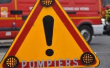 Un camion-citerne de produit dangereux accidenté sur l'A29 : pas de fuite mais un blessé