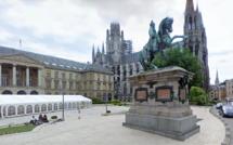 Rouen : inspirés par l'alcool, deux tagueurs arrêtés au pied de la statue de Napoléon