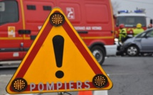 Les sapeurs-pompiers ont dû découper l'habitacle pour extraire la conductrice incarcérée (Illustration)