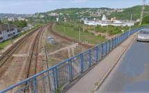 Le cadavre d'un homme découvert en bordure de la voie ferrée à Sotteville-lès-Rouen