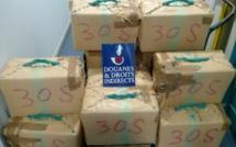 480 kg de cannabis saisis dans un camion de légumes par les douaniers de Perpignan