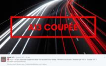 Accident près de Caen impliquant un camion de matière dangereuse : circulation déviée