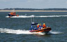 Calvados : quatre personnes isolées par la marée secourues par les sauveteurs en mer de Honfleur