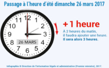Heure d'été : une heure de moins à dormir dimanche 26 mars