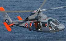 Trois adolescents isolés par la marée secourus par l'hélicoptère de la Marine près de Berck-sur-Mer (62)
