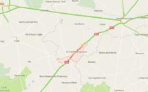 Eure : trois véhicules impliqués dans un accident, la RN 12 coupée à Armentières-sur-Avre