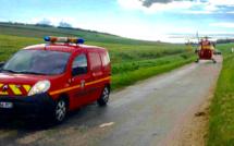 Accident de buggy à Château-sur-Epte : un enfant de 10 ans, blessé, héliporté au CHU de Rouen
