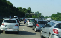 Trafic soutenu sur l'autoroute A 13 : 21 km de bouchon en direction de la Normandie, ce matin