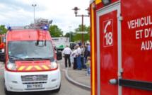 Bolbec : la conductrice fait un malaise, sa voiture percute un compteur à gaz qui s'enflamme
