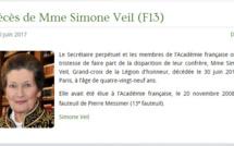 Hommage unanime en Normandie après la mort de Simone Veil