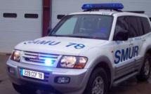 Un blessé grave à Trappes : percuté par un véhicule, un piéton est projeté à 12 mètres