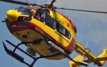 Face-à-face entre deux voitures a Gargenville : une femme évacuée par l'hélicoptère de la sécurité civile