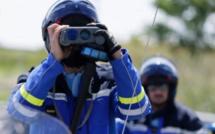 Un motard contrôlé par les gendarmes à 218 km/h sur une route de l'Eure limitée à 90 km/h