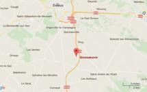 Incendie dans un atelier à Grossoeuvre (Eure) : 50 sapeurs-pompiers mobilisés