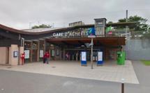 Achères : interpellé dans le train pour avoir menacé un passager avec un couteau