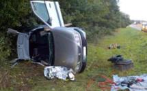 Perte de contrôle à Étrépagny : la conductrice est choquée, son enfant de 3 ans est indemne