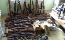 80 armes et 500 kg de munitions découverts au domicile d'un habitant de Notre-Dame-de-Gravenchon