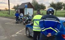 Nouvelle opération de sécurité routière autour d'Yvetot, ce matin : 13 infractions constatées