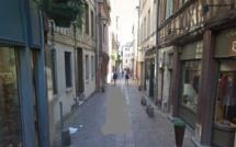 Rouen : pourchassé par deux hommes armés après avoir pris la défense d'une jeune fille