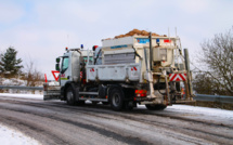 En prévision des premiers flocons de neige, dans l'Eure les saleuses sont en alerte