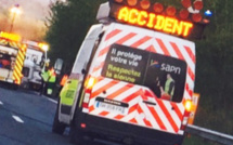 Camion couché sur l'A 13 dans les Yvelines : circulation très perturbée en direction de la Normandie