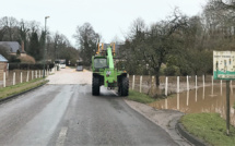 Inondations en Seine-Maritime : routes fermées et coulées de boue, les pompiers sont intervenus 170 fois