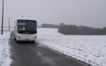 Eure : transports scolaires suspendus également demain jeudi 8 février