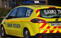 Trois blessés dont un grave dans un face-à-face route de Neufchâtel à Isneauville