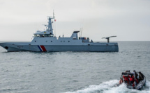 Un marin-pêcheur blessé à la tête rapatrié à Port-en-Bessin à bord du patrouilleur Cormoran