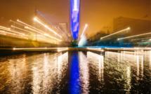 Journée mondiale de l'autisme : la Tour des archives habillée de bleu à Rouen