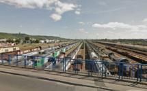 Sotteville-lès-Rouen (Seine-Maritime) : deux wagons s'enflamment mystérieusement en gare de triage