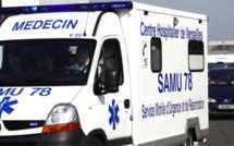 Yvelines : collision moto contre scooter au Vésinet, les deux pilotes sont blessés, dont un grièvement