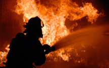 Eure : une longère ravagée par un incendie près d'Epaignes, les occupants sont sains et saufs