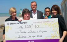 Jackpot. Elle mise 1,25€ et remporte plus de 16 000 € au Casino JOA du Tréport, en Seine-Maritime