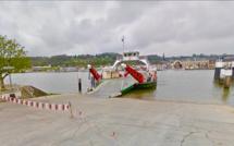 Seine-Maritime : une voiture plonge dans la Seine au bac de Berville-sur-Mer, son conducteur n'était pas à bord