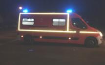 Seine-Maritime : un motard grièvement blessé aux jambes dans un accident à Petit-Couronne