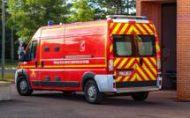 Seine-Maritime : la conductrice fait un malaise, sa voiture percute un véhicule utilitaire, deux blessés