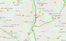 Accident entre un poids lourd et une camionnette : la RN 154 coupée dans le sens Evreux - Louviers (Eure)