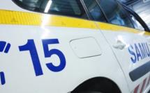 Un motard, seul en cause, grièvement blessé dans un accident de la route à Grand-Couronne