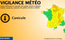Canicule et orage : la Seine-Maritime, l'Eure et la Manche repassent en vigilance jaune