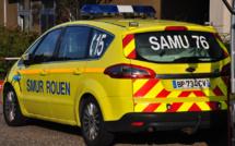 Voiture contre platane à Rouen : le conducteur est grièvement blessé