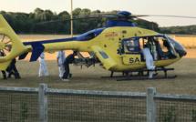 Une voiture et une moto se percutent à Montville : deux blessés en urgence absolue
