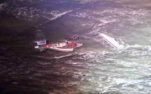 Voilier échoué au large de Barfleur : le skipper récupéré sain et sauf par la Marine nationale